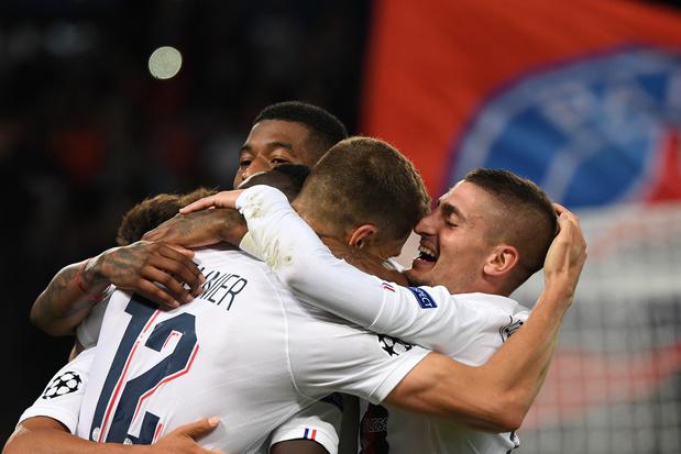 Le PSG surclasse le Real avec un but de Meunier; Atlético et Juve se neutralisent; De Bruyne déroule avec City