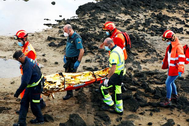 '1851 migranten verdronken in 2020 op weg naar Canarische Eilanden'