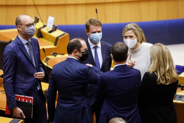 Le gouvernement De Croo obtient la confiance de la Chambre