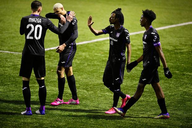 Coupe: Anderlecht dispose du RFC Liège et retrouvera l'Union Saint-Gilloise
