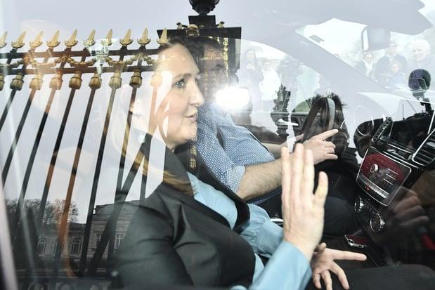 Formation fédérale: Gwendolyn Rutten reçue pendant une heure au Palais