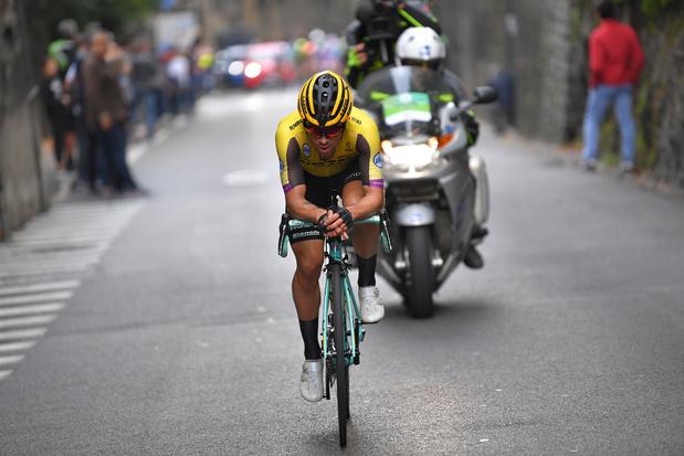 Roglic premier vainqueur d'une course cycliste depuis trois mois