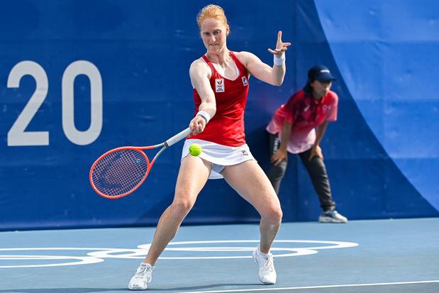 Alison Van Uytvanck verrast en schakelt Petra Kvitova uit in tweede ronde