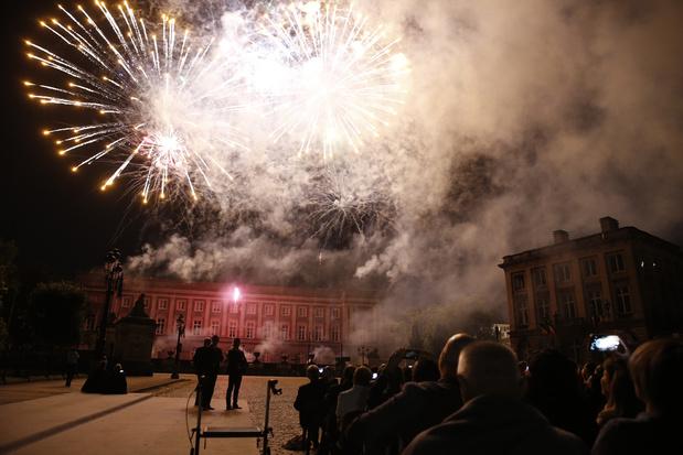 Fête Nationale: Plus de 100.000 projectiles aux couleurs inédites dans le ciel de Bruxelles