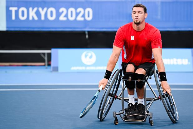 Grosse déception pour Joachim Gérard sorti en 1/8e de finale du tournoi paralympique