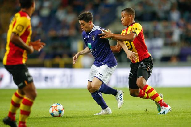 Anderlecht et Malines se quittent sur un partage
