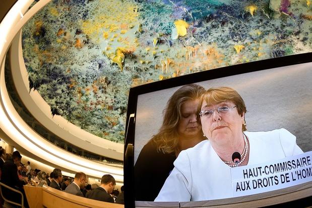 """Le projet israélien """"d'annexion est illégal. Point final"""", selon Bachelet (ONU)"""