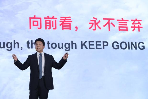 Huawei: 'Amerikaanse ban zal hele technologiesector treffen'