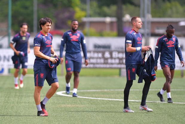 STVV begint als eerste eersteklasser aan de trainingen