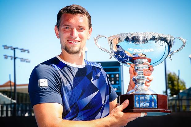 Un premier titre en Grand Chelem pour Joachim Gérard, victorieux à Melbourne
