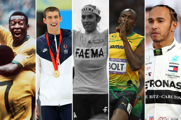 Poll: wie is de grootste sporter aller tijden?