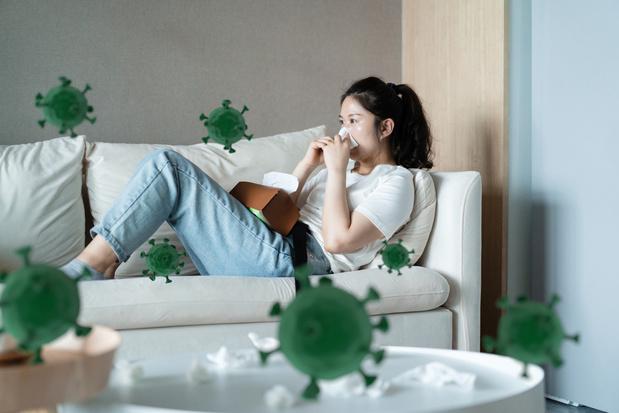 Un rhume pourrait nous protéger temporairement du covid