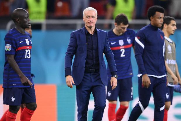 Frans bondscoach Deschamps moet niet vrezen voor job, maar 'gesprek is nodig'