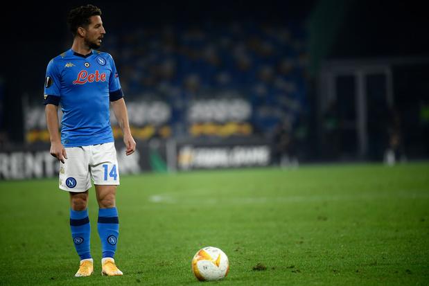 Naples, avec un but de Mertens, a honoré la mémoire de Maradona contre l'AS Rome