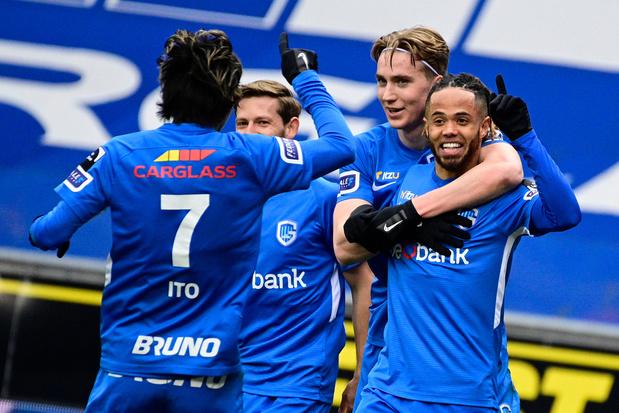 Genk corrige Saint-Trond dans le derby limbourgeois et assure sa place en playoffs