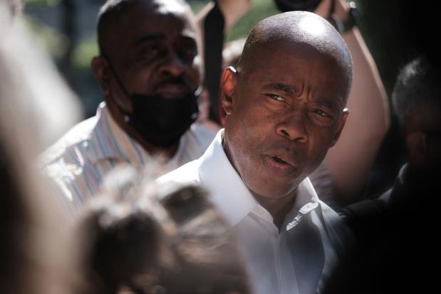 Ex-politieman Eric Adams wordt Democratische kandidaat-burgemeester van New York