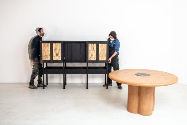 Designers Simon Saelaert en David Braeckman openen eigen toonplek in Gent