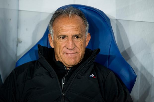 """""""Le match était joué dès la première minute"""", selon le coach de Saint-Etienne"""