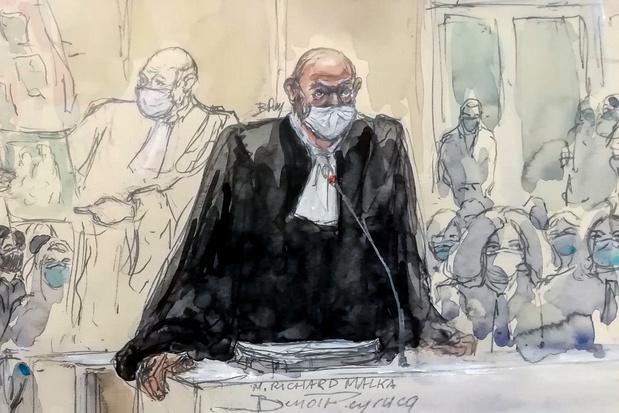 Procès Charlie Hebdo: de 5 ans de prison à la perpétuité requis contre les 14 accusés