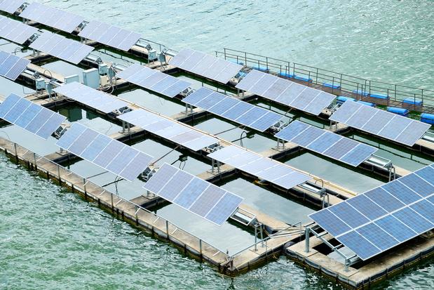 Mer du Nord: Un projet de panneaux solaires flottants initié par un consortium belge