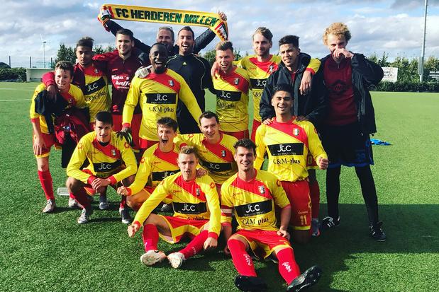 Eersteprovincialer FC Herderen Millen: 'We zitten ver voor op schema'