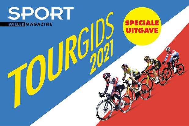 Tourgids 2021 en WIN Tour de France PS4 game