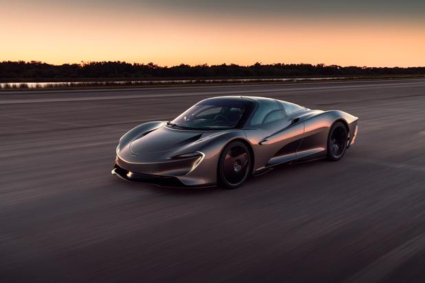 La nouvelle McLaren dépasse les 400 km/h