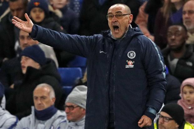 Maurizio Sarri écope d'une amende de 9.200 euros