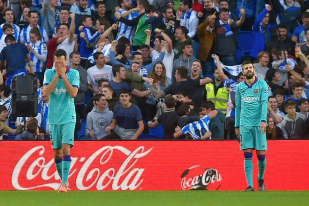 Januzaj et la Real Sociedad tiennent le Barça en échec