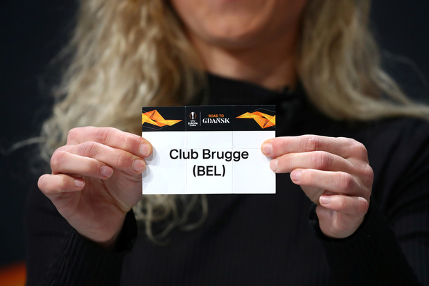 Europa League:  Le FC Bruges hérite de Manchester United, La Gantoise de l'AS Rome