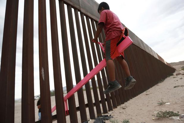 Wipplank tussen Amerika en Mexico wint Design of the Year-award