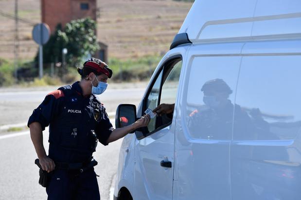 Espagne: la justice suspend le reconfinement d'une zone de Catalogne