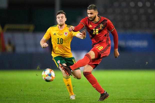 Roberto Martínez: 'Touba is een kanshebber voor de nationale ploeg'