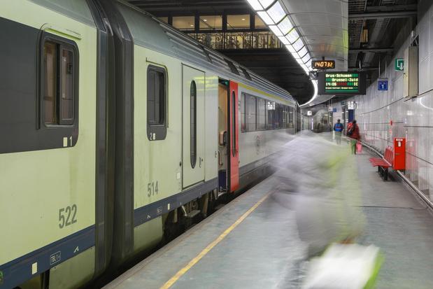 Grève sur le rail: trois trains sur cinq rouleront