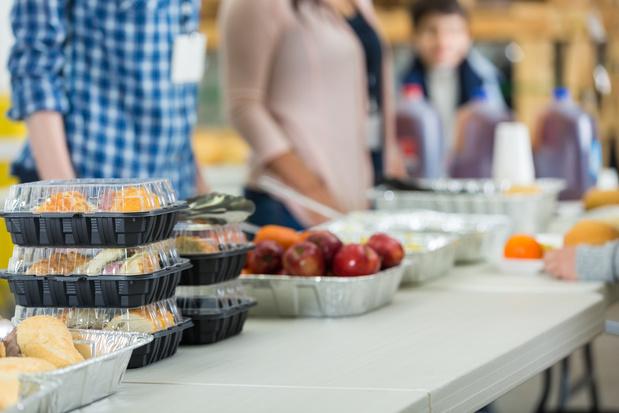 Belgische supermarkten schieten voedselbanken te hulp met half miljoen maaltijden