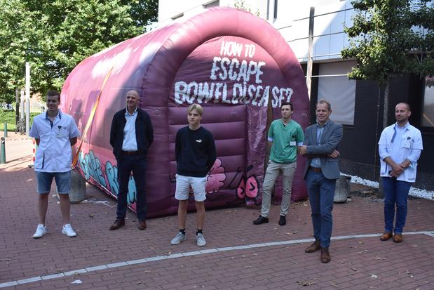 Mobiele escape room 'on tour'