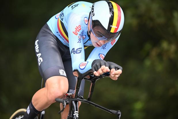 Mondiaux de cyclisme: Florian Vermeersch prend le bronze dans la catégorie espoirs