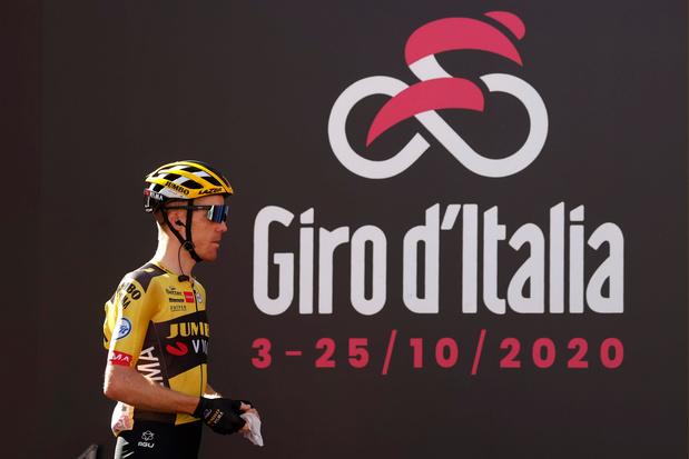 Corona slaat toe in de Giro: Jumbo-Visma en Mitchelton-Scott verlaten koers na positieve tests