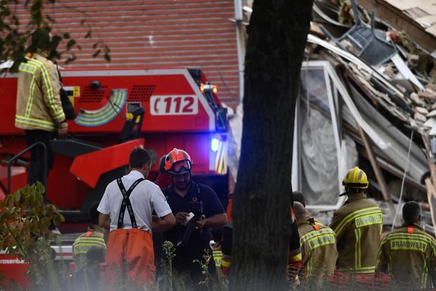 Explosion à Wilrijk: la 3e victime libérée des décombres dans un état stable