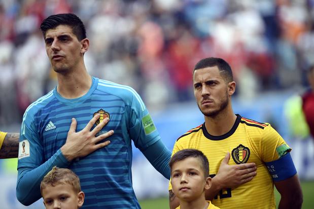 """Courtois: """"Eden Hazard va bientôt exploser"""" au Real Madrid"""