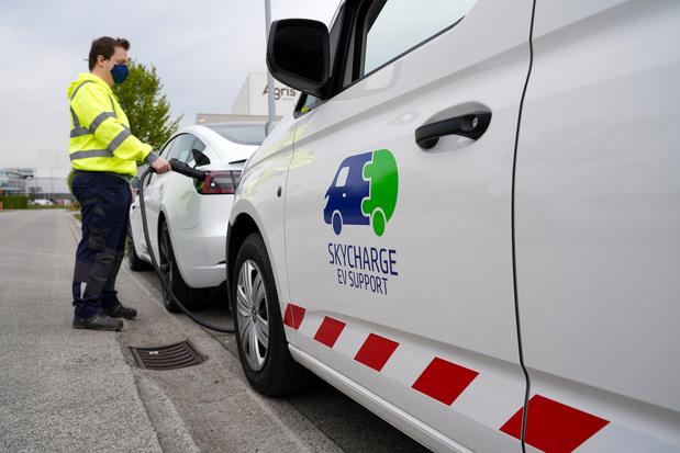 SkyCharge lanceert mobiele laaddienst voor elektrische wagens