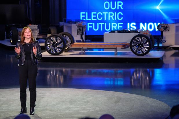 General Motors annonce sa neutralité carbone pour 2040