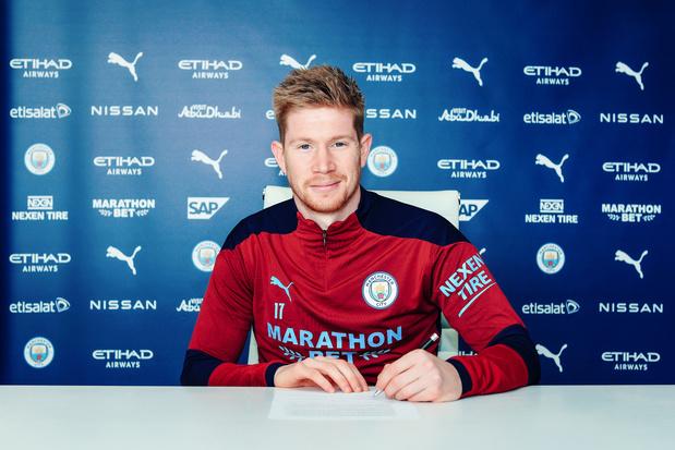 The day after: De Bruyne beloond met contract tot 2025 bij Manchester City