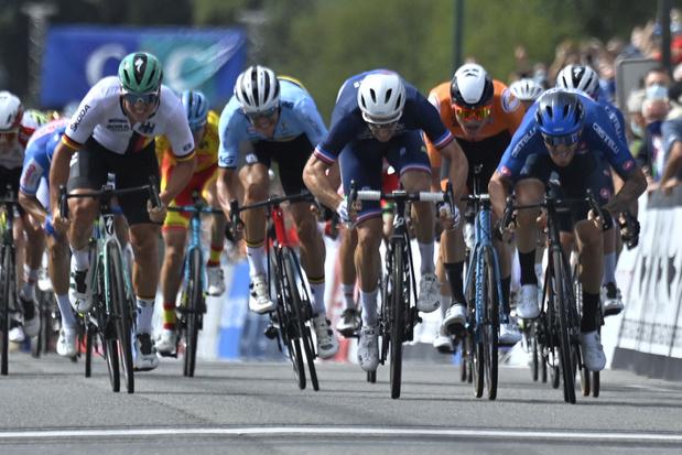 L'Italien Giacomo Nizzolo champion d'Europe de cyclisme