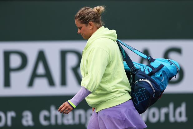 Kim Clijsters na uitschakeling Indian Wells: 'Elke wedstrijd is het een beetje zoeken'