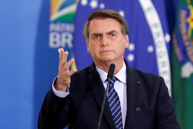 """Dans une vidéo sur Twitter, """"le lion"""" Bolsonaro attaqué par les hyènes de l'ONU ou des médias"""