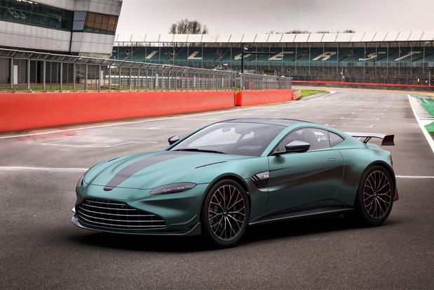 La Safety car officielle Aston Martin en Formule 1 est à vendre