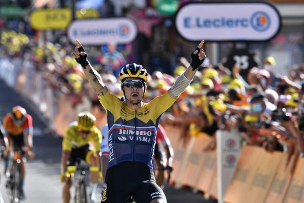 Primoz Roglic gagne la 4e étape du Tour de France dans la station d'Orcières-Merlette