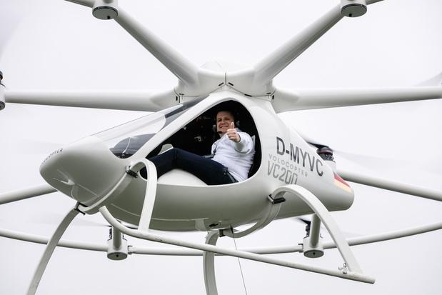 Volocopter maakt testvlucht in Singapore