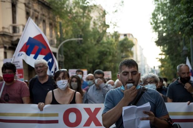 Amnesty: Griekse autoriteiten misbruiken hun macht om demonstratierecht in te perken